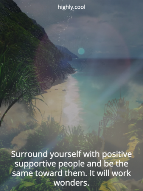 Positive Supportive People